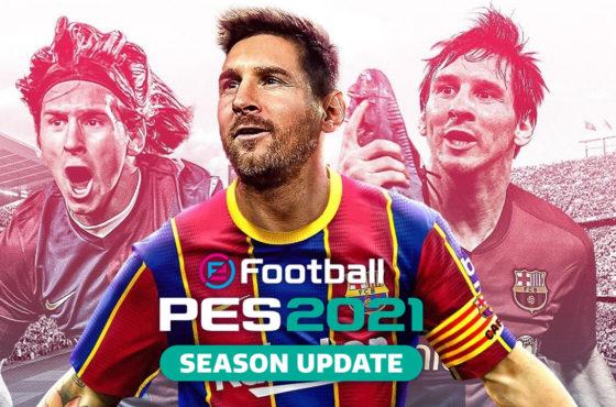 eFootball PES 2021 Season Update – Découvrons ensemble les 60 premières minutes du jeu…
