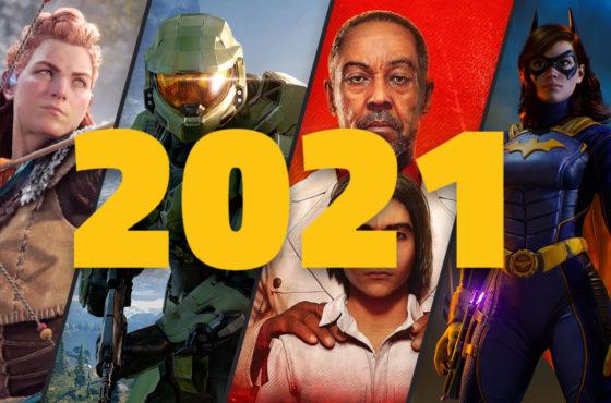 Les 10 jeux les plus attendus de 2021